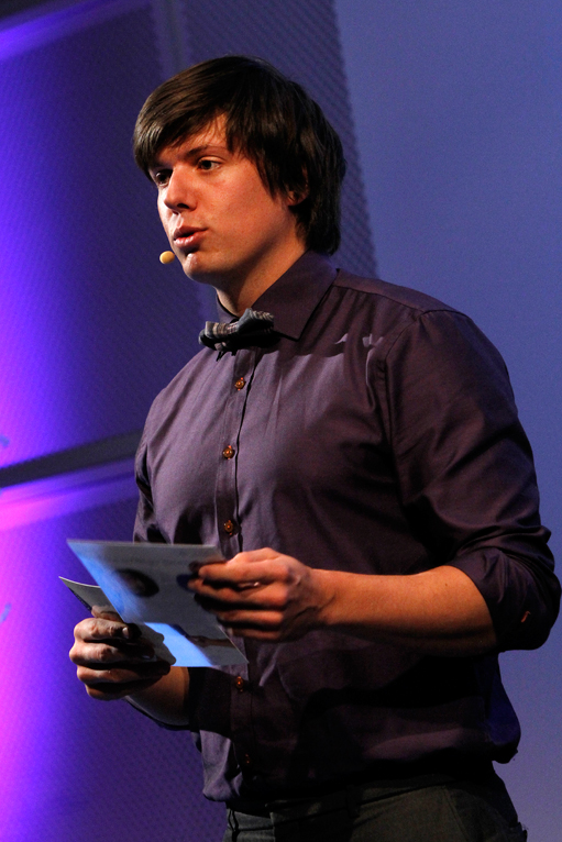 Physicist Andreas Wahl, host for the RENERGI conference in Oslo, 20.11.2012