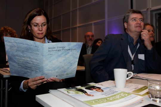 Nordic Energy Technology Perspectives: At a glance, released at the RENERGI conference in Oslo, 20.11.2012