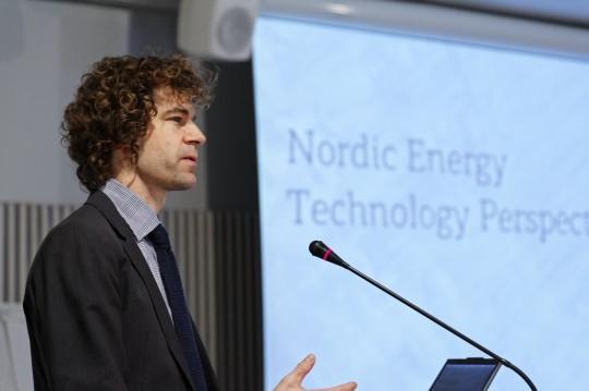 FINLAND: Markus Wråke, Head of Unit, Energy Supply Technologies; Project Leader Energy Technology Perspectives, IEA. Helsinki 22.01.13. photo: studiohalas.com