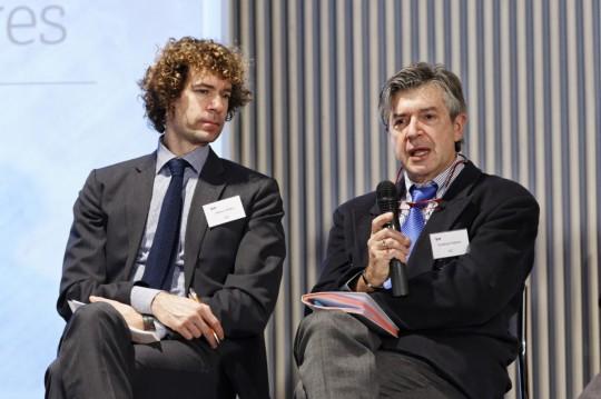FINLAND: Stathis Peteves, Institute for Energy & Transport, DG JRC, European Commission (right). Helsinki 22.01.13. photo: studiohalas.com