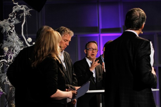 Panel debate about the preliminary results from the Nordic ETP at the RENERGI conference in Oslo, 20.11.2012