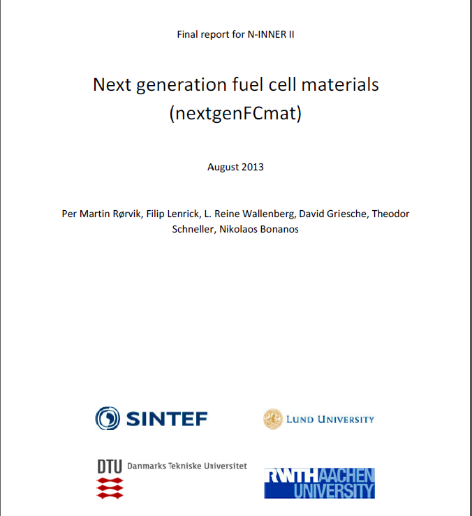 Publications – Nordic Energy Research