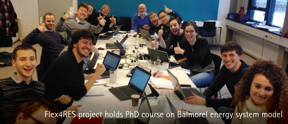 Balmorel PhD students 2016