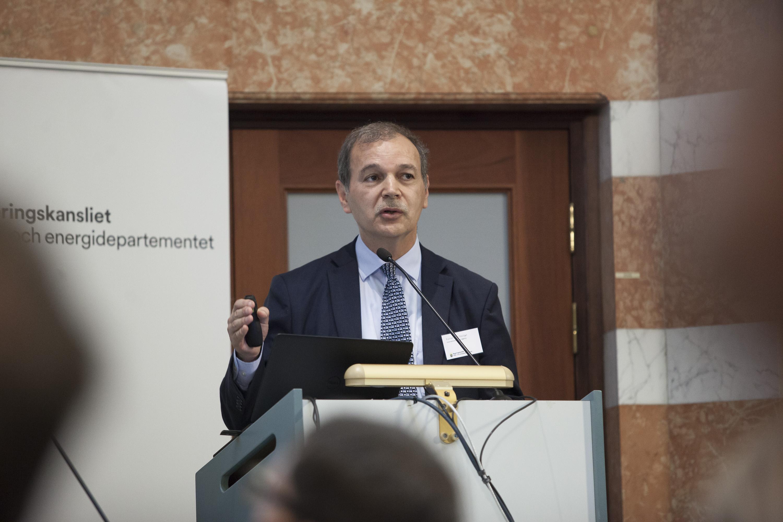 Kamel Ben Naceur, (International Energy Agency) , Stockholm 23rd of May 2016. Photo: Oskar Kullander