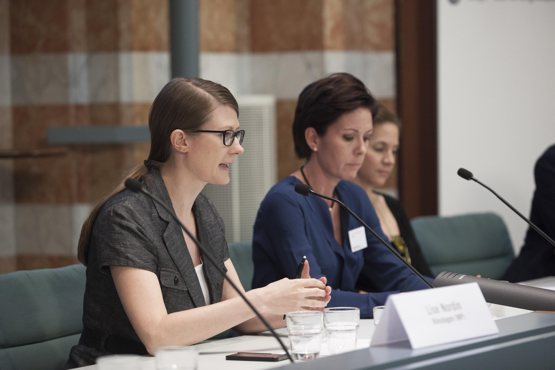 Lise Nordin (Miljöpartiet de gröna) Foto: Oskar Kullander