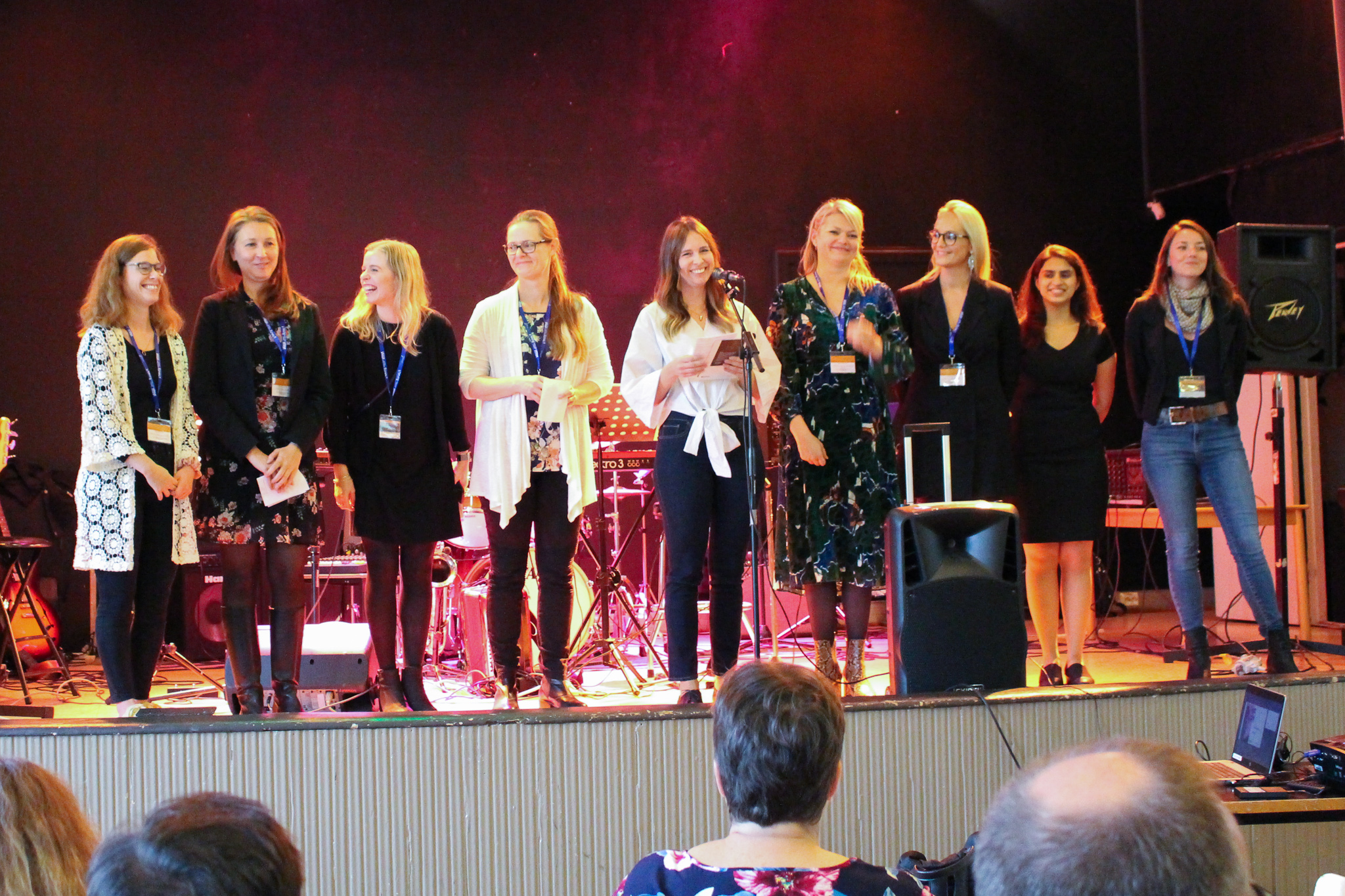 The NEEN Board at the network's launch in Vaasa, Finland.