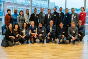 Delegation from the Shanghai Association of Science and Technology visiting the Nordic Center in Oslo, June 13th 2019